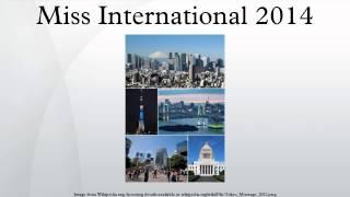 Miss International 2014 2017 Video
