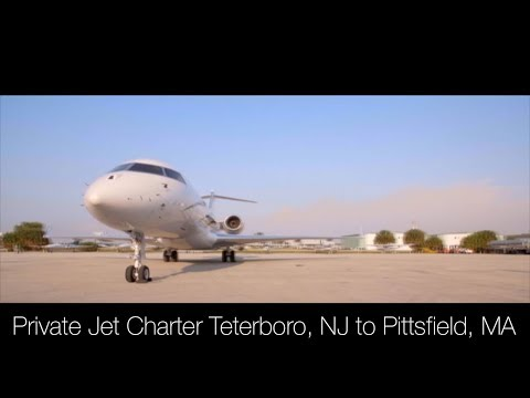Private Jet Charter Teterboro, NJ to Pittsfield, MA