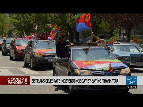Eritreans celebrate Independence Day by saying 'thank you'