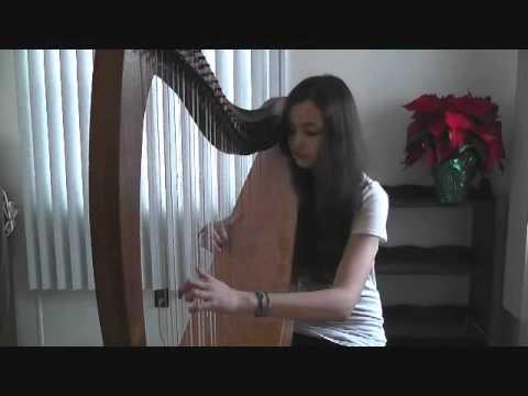 Meteor Shower - Owl City (Harp Cover)