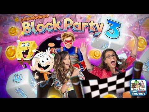 Block Party 3 - Goo Lagoon and Game Shakers Game Boards (Nickelodeon Games)