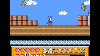ファミコンのゲームのプレイ動画。 「ラウンド6 スーパーエネルギーを奪え!」