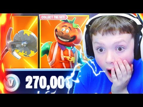 Surprising My Little Brothers With 27,000 V-BUCKS In Fortnite Battle Royale! (Fortnite Free V-Bucks)
