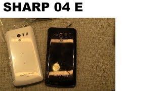 Японский телефон SHARP 04 E