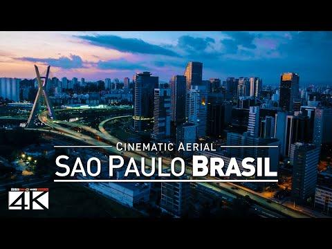 4K Drone Footage SAO PAULO [DJI Phantom 4]