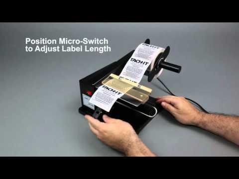 Tach-It SH-400 Ultra Economical Semi-Automatic Label Dispenser