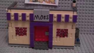 Lego The Simpsons Moe's Tavern Moc