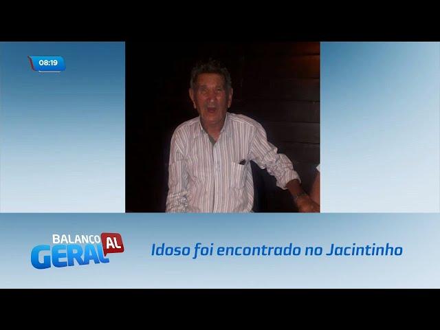 Idoso de 80 anos foi encontrado desorientado no bairro do Jacintinho