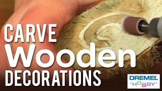 How To Carve Wooden Decorations With The Dremel Stylus - Part Two