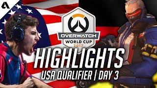 Overwatch Gameplay - USA Jake Soldier 76 : Disgusting Tracking VS Germany ft Genji | World Cup