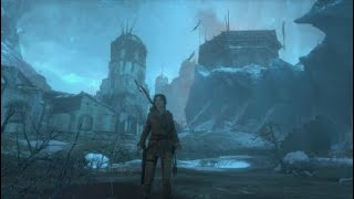 Rise of the Tomb Raider (Camara de Exorcismo) gameplay completo