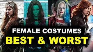 Mera First Look - MCU vs DCEU Costumes Review!