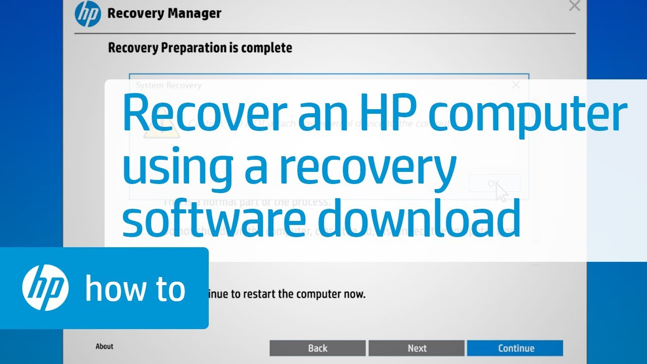 hp recovery discs for hp 15 notebook pc download