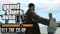 GTA 4 - Fly The Co-op Achievement / Trophy (1080p)