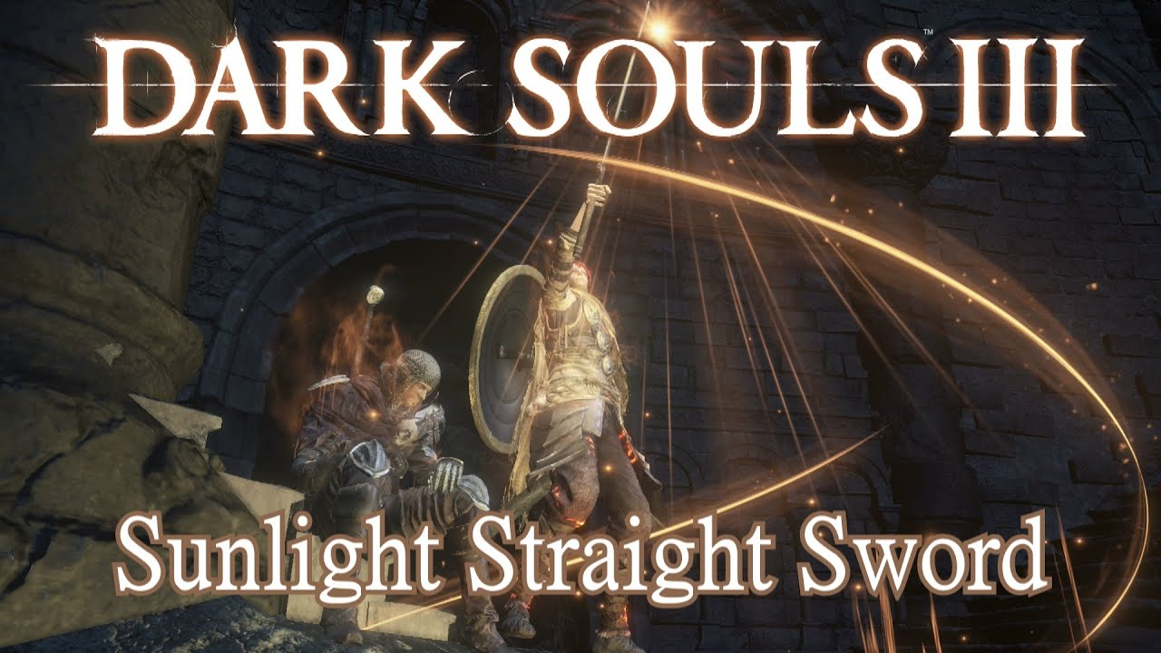Best straight sword dark souls 3