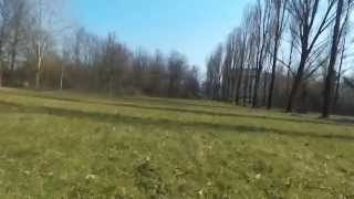 Parrot Bebop Drone First Flight in Milano