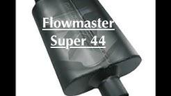 FLOWMASTER SUPER 44 MUFFLER: 2 Months Later