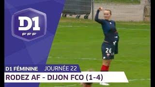 J22 : Rodez AF - Dijon FCO (1-4) / D1 Féminine