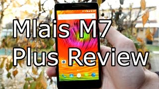 mlais M7 Plus Review - MTK 6753 Octa Core - 3GB RAM  Fingerprint 4K
