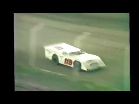 1985 races at Black Hills Speedway #18 sportsman heat race