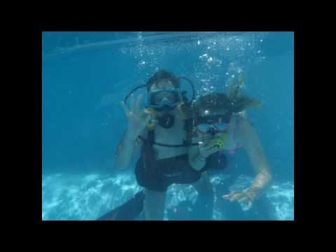 Casey Learning To Scuba Dive