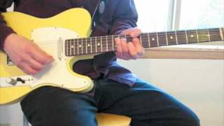 Guitar Lesson: CCR Proud Mary, Part I