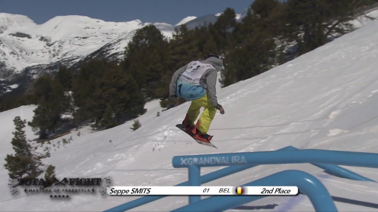 Seppe smits (bel) 2nd place - grandvalira total fight 2016