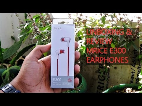 Mrice || E300 ||Unboxing || Review