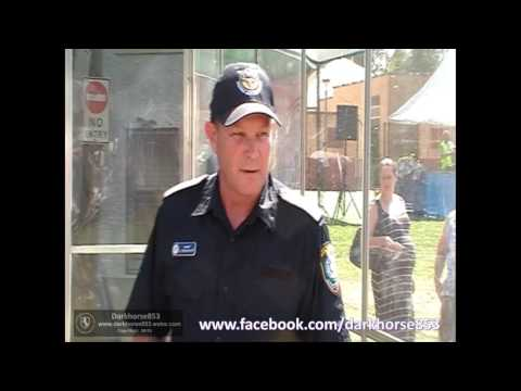 Operational Safety & Skills Command First Display @ The NSW Police Fairfield Open Day 1710201