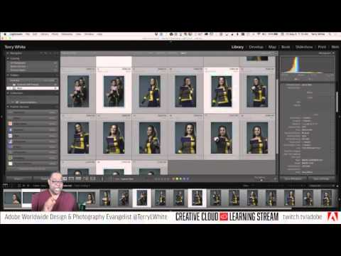 Introduction to Adobe Lightroom CC - Pt 2 - Collections vs Folders - lightRoom | Educational