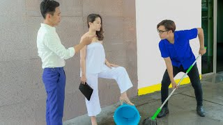 Despises Young Man For Working As A Cleaner, Ex-Girlfriend Learns A Shocking Truth ~!!! RKM TEAM