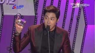 [dcyunhogall]2013-02-13(수)가온차트어워드 - 윤호 4분기앨범상 수상.ts