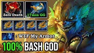 OMG 100% BASH After 3 Hits New 7.23f Slardar Madness Speed 17min GG with Godlike & Zero Death DotA 2