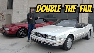 I Accidentally Bought The 2 Cheapest Cadillac Allante in the USA