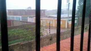 Tormenta en Puerto Píritu, Estado Anzoategui