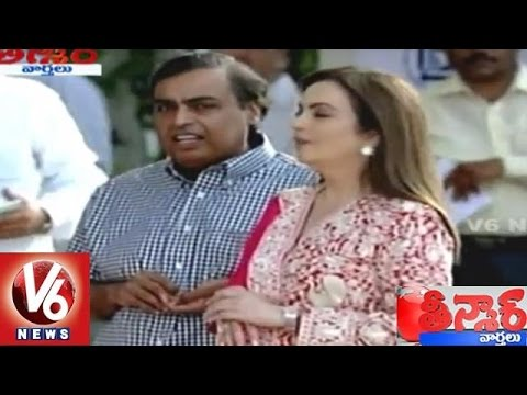 Forbes India Rich List 2015 | Mukesh Ambani Tops for 9th year in a Row | Teenmaar News | V6 News