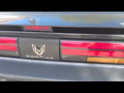1989 Pontiac firebird eBay