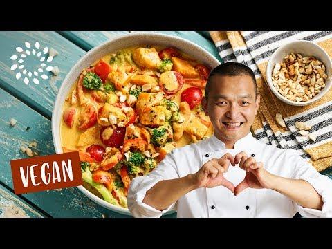 Curry mit Süsskartoffeln