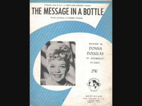 Donna Douglas  The Message In A Bottle 1962