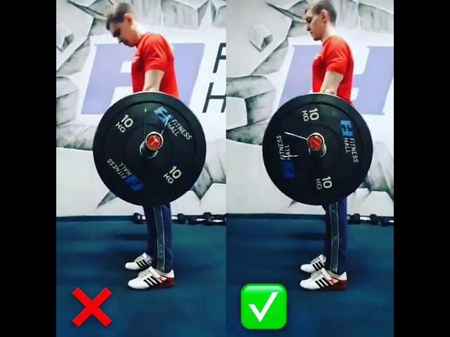 Техника становой тяги
