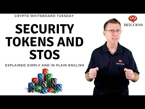STOs and Security Tokens Explained (simply)