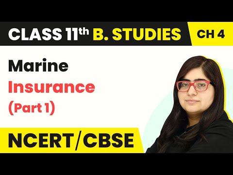 Marine Insurance (Part 1) - Business Services | Class 11 Business Studies