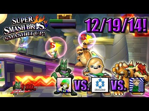 Super Smash Bros. - Smash It Up! (Wii U) - 12/19/14! Flagged Matches!
