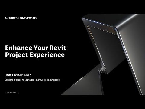 Enhance your Revit Project Experience