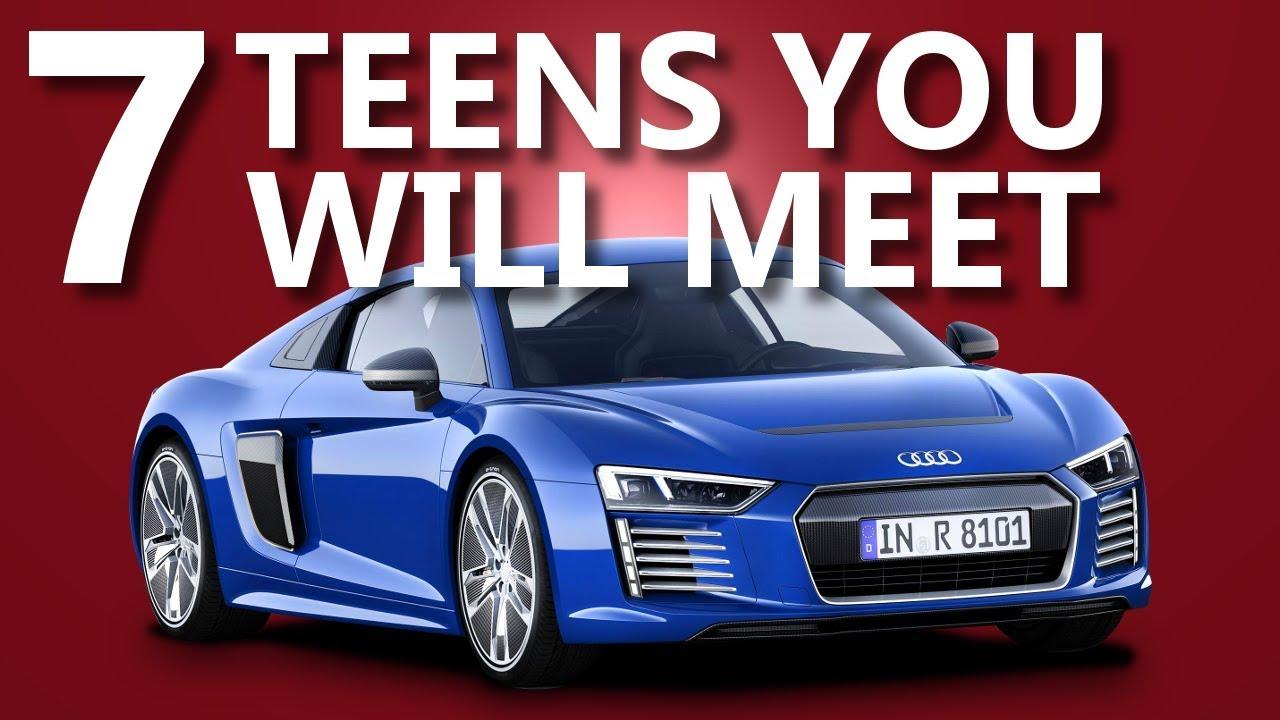 7 Types Of Teenage Car Guys
