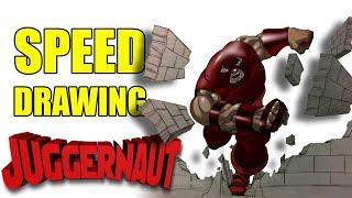 Speed drawing Juggernaut