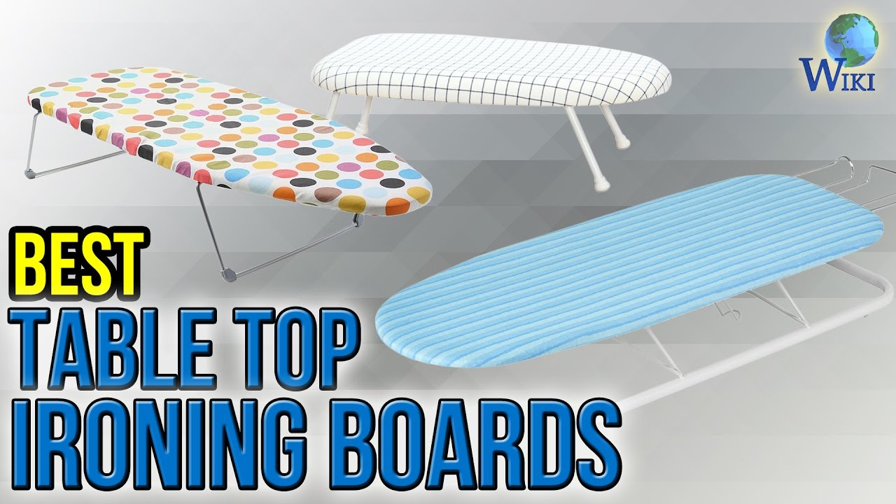 10 Best Table Top Ironing Boards 2017