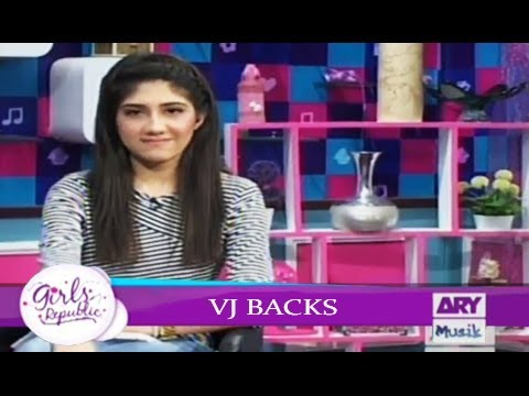 Girls Republic | VJ Backs  | Topic - Apka Favourite |ARY Musik