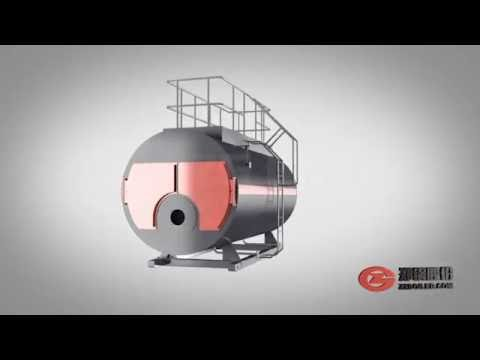 WNS Oil And Gas Fired Boiler Structure Demo