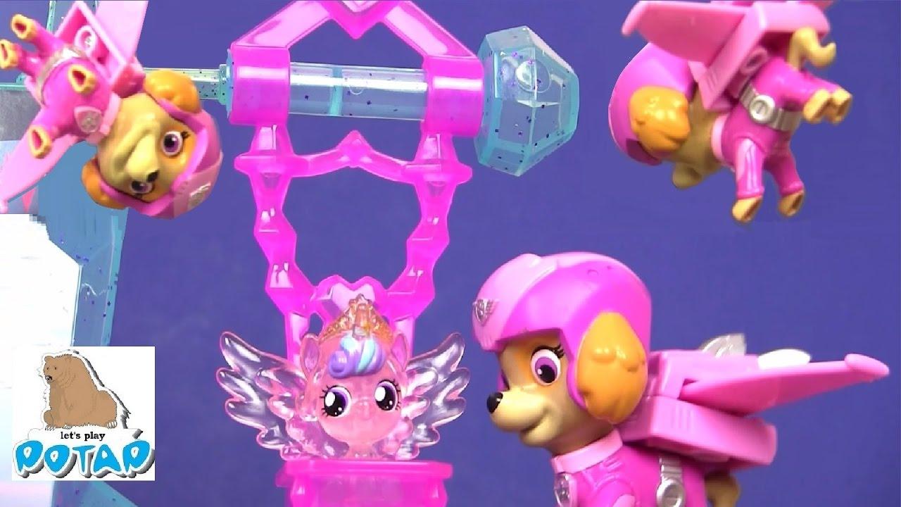 Пони и щенячий патруль игрушки в